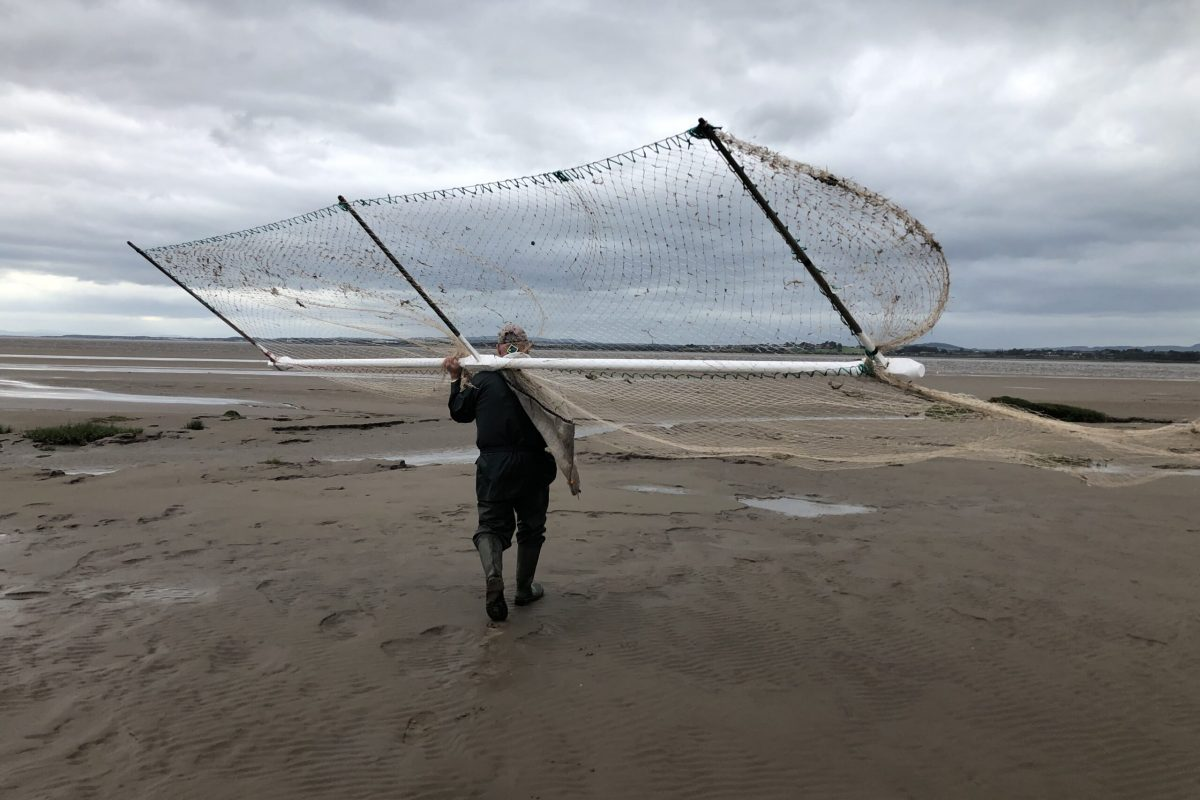 Initial research image, Mark Messenger, Haaf Netter at Bowness-on-Solway